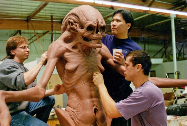 Alien Resurrection Movie Special f/x Sculpting by Buccacio
