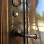3 coats of icralac applied to bronze doors