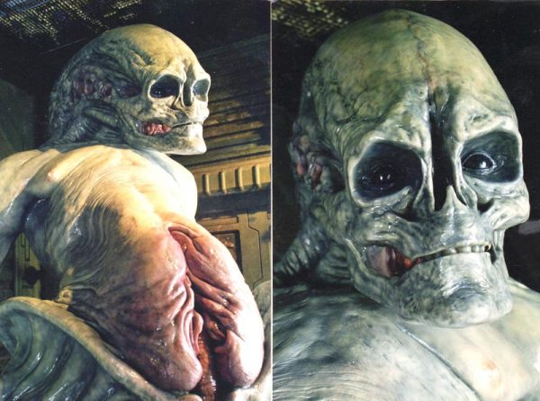 ALIEN RESURRECTION (Newborn Alien), Jeff Buccacio