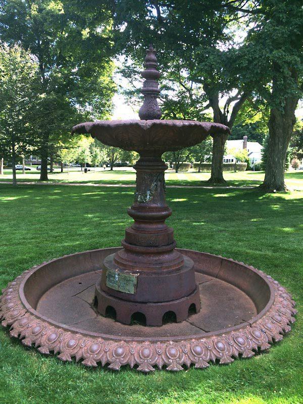 Claflin Fountain - Buccacio Sculpture Restorations & Conservation