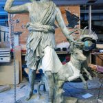 Diana & Stag - Sculpture Restorations & Conservation