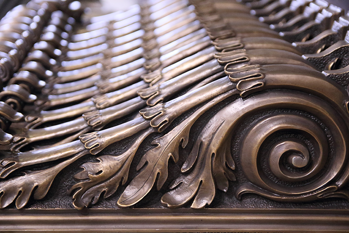 Massachusetts Foundry Produces Bronze Architectural Multiples