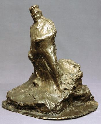 Rosso Bronze Sculpture