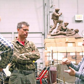 Paul Cavanagh & Jeff Buccacio Bronze Foundry Consultation