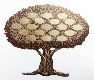 """Bronze Keepsake Tree-19""""/16""""- buccacio Sculptureservices"""