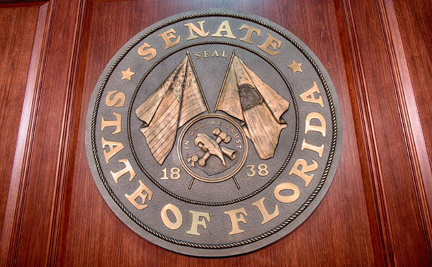 Cast Bronze Plaque-Florida Seal-Buccacio Sculpture Services and Foundry