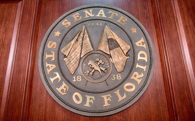Cast Bronze Plaque-Florida Seal-Buccacio Sculpture Services and Foundry
