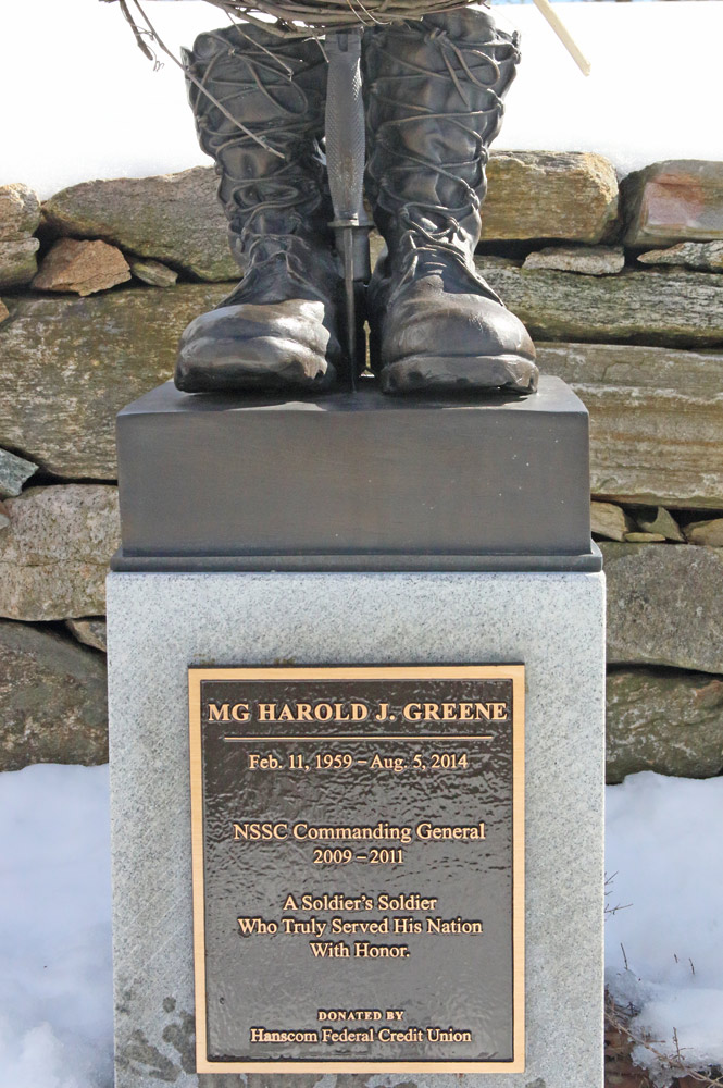 Harold-Greene-Memorial Plaque-Natick-MA-Buccacio-Sculpture-Services and Foundry