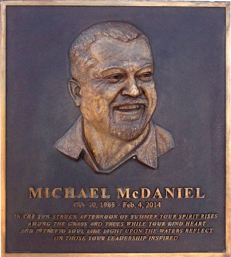 Public Works Custom Cast Bronze Bas Relief Memorial Plaque-Natick-MA-Buccacio Sculpture Services And Foundry