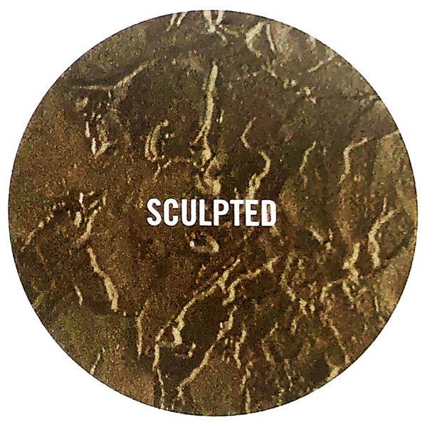 Cast Bronze Plaque Texture 3- Buccacio Sculpture Services and Foundry