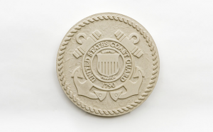 US Coast Guard Seal in Cast Stone