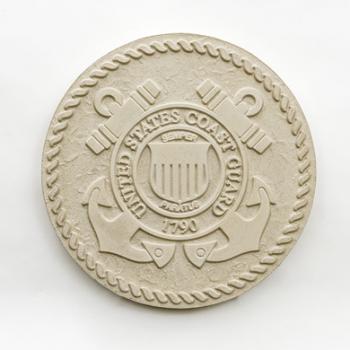 US Coast Guard Seal in Cast Stone