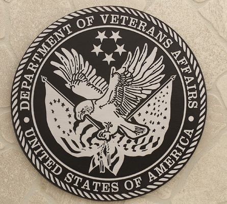 Dept. of Vets Affairs-Buccacio Sculpture Services and Foundry-Etched Plaque