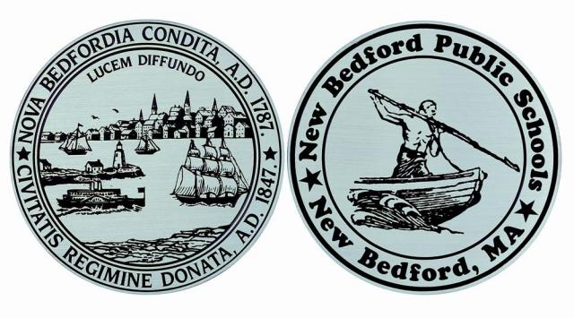 Etched Aluminum Seal-New Bedford, Ma-Buccacio Sculpture Services and Foundry