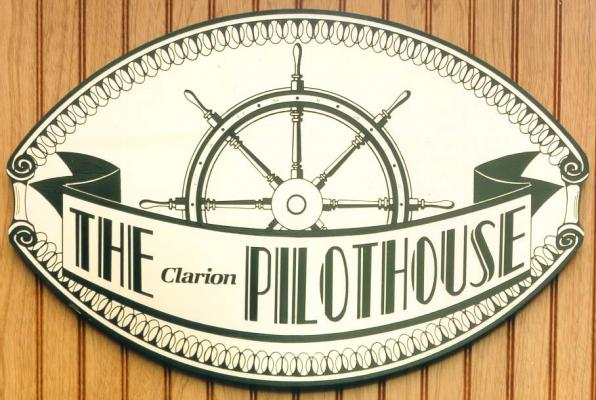 Etched brass-decorative-identification Plaque Clarion-Pilothouse-Buccacio Sculpture Services and Foundry