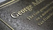 Etched metal cast bronze Dedication Plaque-raised graphics-Buccacio Sculpture Services and Foundry