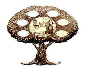 """Bronze Keepsake Tree 2- 15""""/ 12"""" 8-12 Leaves"""