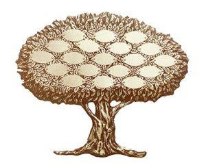 """Bronze Keepsake Tree 3 19""""/ 16"""" 12,14,16 or 19 Leaves"""